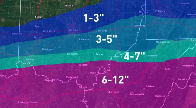 SE Ohio base map