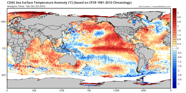 winter outlook current SST