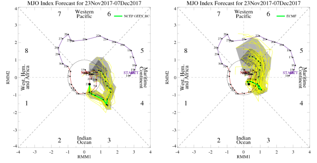 MJO forecasts