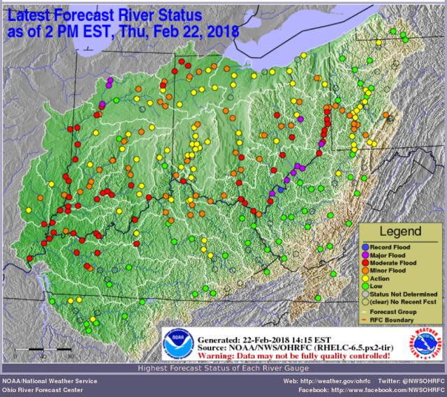 river forecast