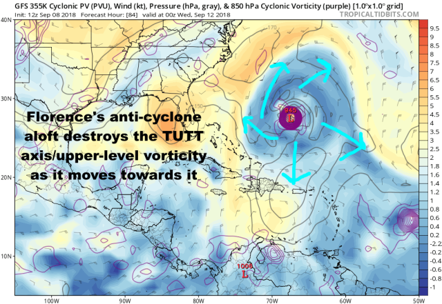 9-8 Florence GFS 84