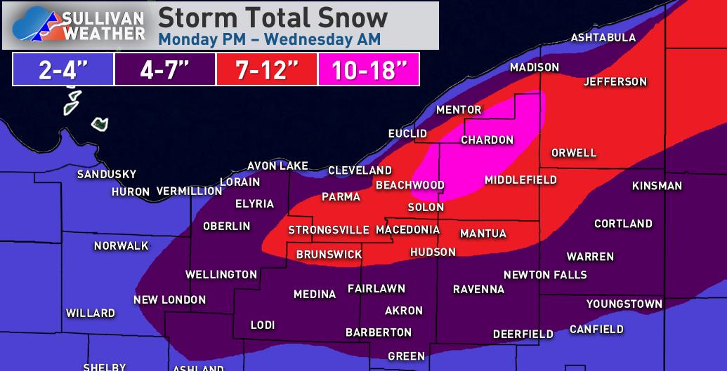 11-11 NE OH storm total