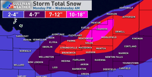 11-11 NE OH storm total